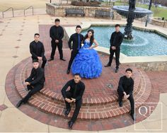 Quinceanera Decorations, Quinceanera Party, Quinceanera Dresses, Quinceanera Photography, Wedding Photography, 18th Party Ideas, Quince Pictures, Chambelanes, Quince Dresses
