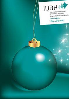 Fröhliche Weihnachten an alle unsere Studierenden!