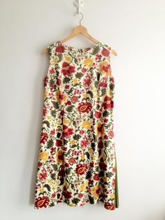 Vintage Martha Moore Day Dress / Sleeveless by ShantyIrishVintage