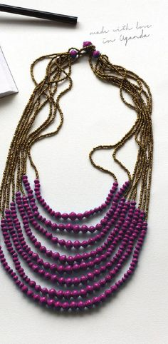 #ClippedOnIssuu from 2014 Fall Catalog Favorite Fall Necklace @noondaycollection