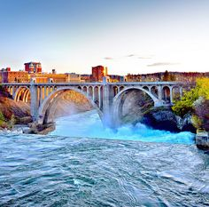 Spokane Falls by Visit Spokane, via Flickr