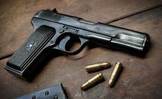 1953 Tokarev Loading that magazine is a pain! Get your Magazine speedloader today! http://www.amazon.com/shops/raeind