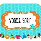 This is a vowel sort mini lesson for those budding readers who need extra reinforcement on vowel segmentation.There are multiple pictures for each vowel, both long and short and a recording sheet is included. Kindergarten Language Arts, Teaching Language Arts, Kindergarten Literacy, Preschool, Phonics Reading, Teaching Reading, Teaching Ideas, Teaching Materials, 1st Grade Writing
