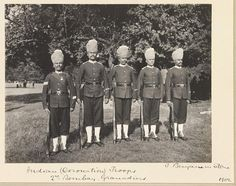 2nd Bombay Grenadiers of the Indian Army in Hampton Court Camp on the occasion of the Coronation of King Edward VII, August 1902, by Sir Benjamin Stone