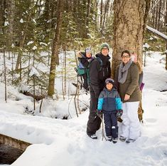 Merry Christmas from our family to yours! Thanks to Dustin for the family portrait! Family Christmas, Christmas Time, Merry Christmas, Canadian Winter, Toronto Photographers, Winter Hiking, Scene Photo, Bradley Mountain, Family Portraits