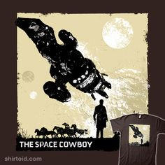 """""""The Space Cowboy"""" by girardin27  Inspired by Malcolm Reynolds, the space cowboy of Firefly."""