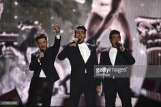 News Photo : Il Volo of Italy performs on stage during the...