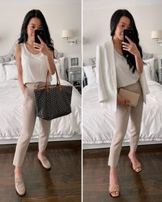 Summer 2021 Work Outfit Ideas Day To Night Outfit Summer, Summer Work Outfits Office, Casual Work Outfit Summer, Day To Night Outfits, Weekend Outfit, Summer Outfits, Office Outfits, Office Wear, Laid Back Outfits