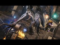 Evolve: Wraith Solo Mode Gameplay - Nest