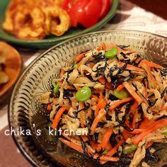 この食感ホントにクセになります♡ Japenese Food, Cooking Mussels, Cooking Recipes, Healthy Recipes, Easy Recipes, Japanese Dishes, Cooking Instructions, Side Recipes, Daily Meals