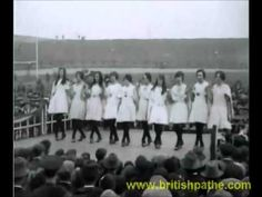 This video is an amazing insight into Irish dancing of the past! It's footage of the All-Ireland Dancing Competition from 1926!