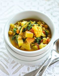Slow-Cooker Recipe: Curried Vegetable and Chickpea Stew — Recipes from The Kitchn | The Kitchn