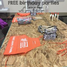 Home Depot Birthday for free! Awesome!
