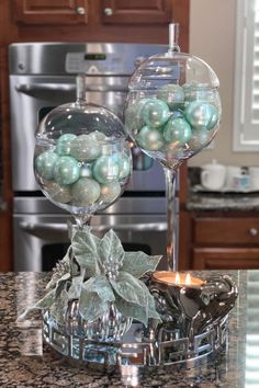 Silver Christmas Decorations, Pink Christmas, Christmas Stuff, Rustic Flower Arrangements, Rustic Flowers, Apothecary Decor, Kitchen Decor Themes, Holiday Themes, Decorating Coffee Tables