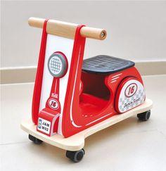 Racing Red Jamm Scooter - $400 blog.hairshoppingmall.com www.hairshoppingmall.com