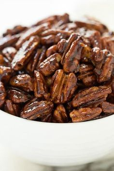 You'll find a zillion ways to use theseEasy Peasy Candied Pecans... a delicious cocktail nibble, fabulous salad topping, awesome hostess gift...