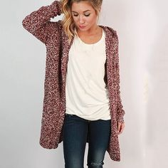Casual Solid Color Loose Cardigan Jacket Knit Top