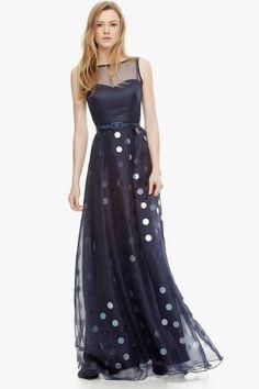 Adolfo Dominguez Organza Lady Gown