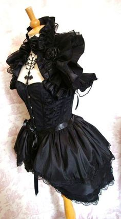 #steampunk dress