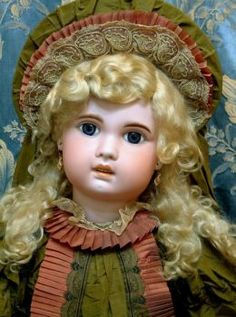 French Jumeau Doll from 1907~Love That Cleft In Her Chin.