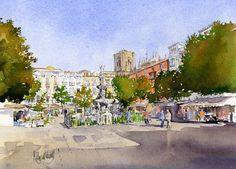 Bib-Rambla, Granada, by Margaret Merry