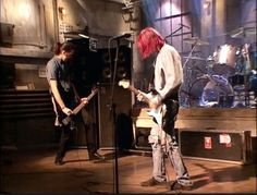 Nirvana--Saturday Night Live---love that hair!