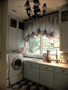 laundry room by James Webber, via Flickr