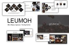CreativeMarket  Leumoh Powerpoint Template 1911046 Free Download http://ift.tt/2Bbcqf7