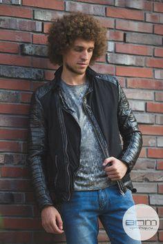 Стильная мужская куртка Jeckbaolo