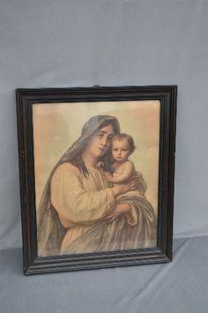 Madonna del Granduca w Ramie BRUNO WENZEL Breslau