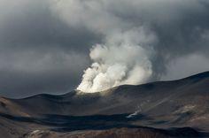 Fumarola en el Volcan Isluga (Colchane, Chile)