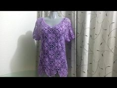 Grape Color Blouse Crochet Tutorials – Page 2 – Craft Addicts