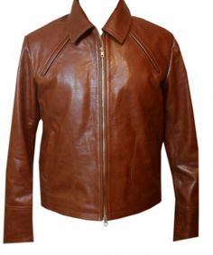 Brown outerwear worn by #Joseph-gordolevitt in movie #Inception as #Arthur