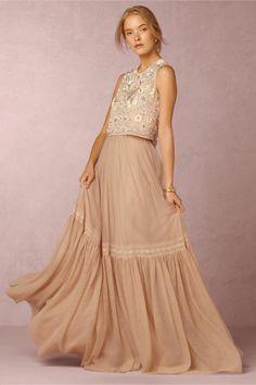 BHLDN Evelyn Top & Romella Skirt in  Bride Wedding Dresses at BHLDN