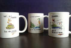 Mugs Colombianidad - Loretto & Simona Personalizable Compre en www.regaloscolombianos.com o solicite información a ventas@regaloscolombianos.com