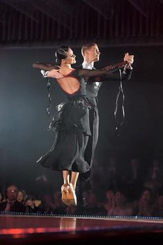 EM couture ballroom dress, standard. And I should think quickstep ;) (not my photo)
