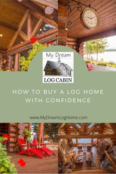 Often people start out planning to build their dream log cabin, but in the process of shopping for land come across a cozy cabin that is perfect for them. Instead of building they end up buying an already existing log home. This episode gives you what you need to know to prevent costly oversights. #logcabins #loghomes #loghomeinspections Log Home Builders, Log Home Designs, Mountain Living, Log Cabin Homes, Home Inspection, Cozy Cabin, Cabins In The Woods, Traditional House, Life Is Beautiful