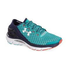 quality design ed366 44fbb Under Armour  SpeedForm Gemini  Running Shoe ( 130) ❤ liked on Polyvore  featuring