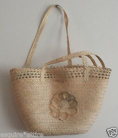 #women handbag purse sale on ebay women Natural Palm Straw Summer bag Hand Made in Guatemala withing our EBAY store at  http://stores.ebay.com/esquirestore
