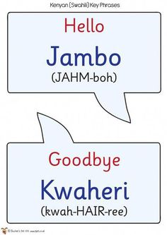 14 Best Swahili images in 2013 | Languages, Tanzania, Learn