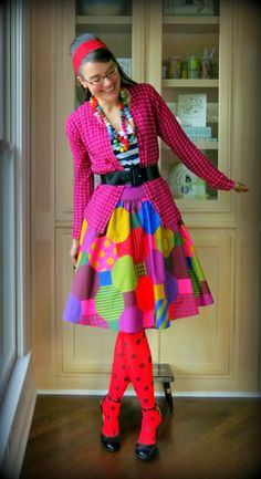 Tacky Outfit Ideas Gallery wacky tacky outfit ideas wacky in 2019 wacky tacky day Tacky Outfit Ideas. Here is Tacky Outfit Ideas Gallery for you. Art Teacher Outfits, Teacher Wear, Teacher Costumes, Teaching Outfits, Teacher Style, Teaching Ideas, Crazy Dresses, Crazy Outfits, Wacky Tacky Day