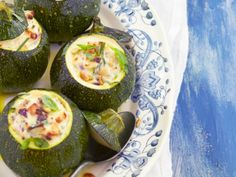 Courgettes met ricotta