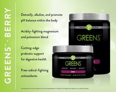 I love my greens!! They are my favorite supplement!!! They give me GOOD energy and I feel better than I have felt in a long time!! 307-772-1332 https://andreha.myitworks.com