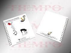 Cuaderno Corporativo Tiempo, en pasta dura plastificada mate o brilloso. Portada, contra portada e interior con las imágenes e información de su empresa, producto, servicio o evento en selección de color. Rayado, cuadriculado o en blanco.