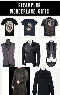Shop goth steampunk Christmas gifts for men at RebelsMarket.