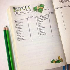 Decided to get on top of my finances this month. Made a Budget list and an Incomes & Outgoings one. How do you track your finances every month?  #finances #budget #bulletjournal #bulletjournaljunkies #money #leuchtturm1917