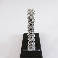 Bracelet chainmaille gridlock