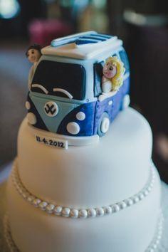 vw campervan wedding cake topper - Google Search