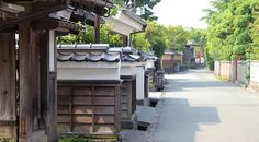 Japanese Architecture::Today, former samurai residences are best seen in cities which preserve some of their samurai districts, such as Kanazawa or Hagi. A few of them date back to the Edo Period.