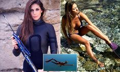 Spearfishing huntress reveals abuse she receives pursuing her dream